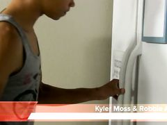 Kyler Moss And Robbie Anthony - Kitchen Kink with Kyler and Robbie