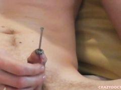 Spreading homo men urethral