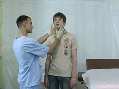 Smoking torrid medical examination