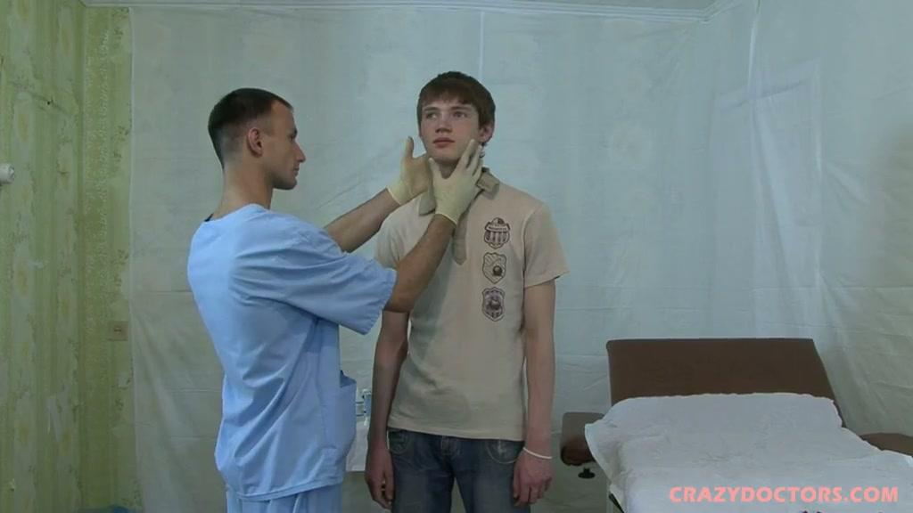 Smoking torrid medical examination