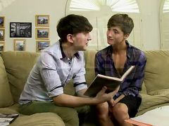 Seducing The Nasty Tutor - Andy Kay And Zack Enjoy