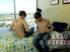 Dakota Ravages His Jism Into Elijah! - Dakota Milky And Elijah Youthfull