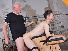 Making Excellent Use Of Bashful Guy Nathan - Part two - Nathan Reyes & Sebastian Kane