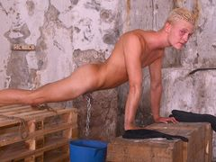 Jumpy Fresh Blonde Dude Cain Part two - Cain Fonda & Sebastian Kane