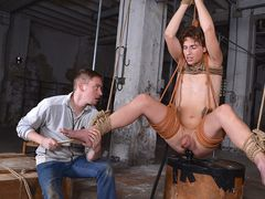Super-Cute Casper Gets Rectally Used - Part 1 - Casper Ellis & Ashton Bradley