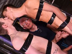 Making The Fresh Man Thirsty For Jism Part trio - Jay McDally, Sebastian Kane & Reece Bentley