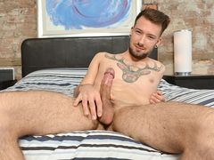 Slow Wanking With Zach - Zach Connors
