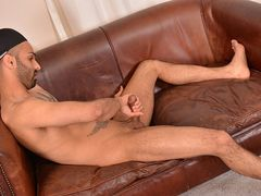 Aiden Ejaculates Rock-Hard In His Solo - Aiden Rivers