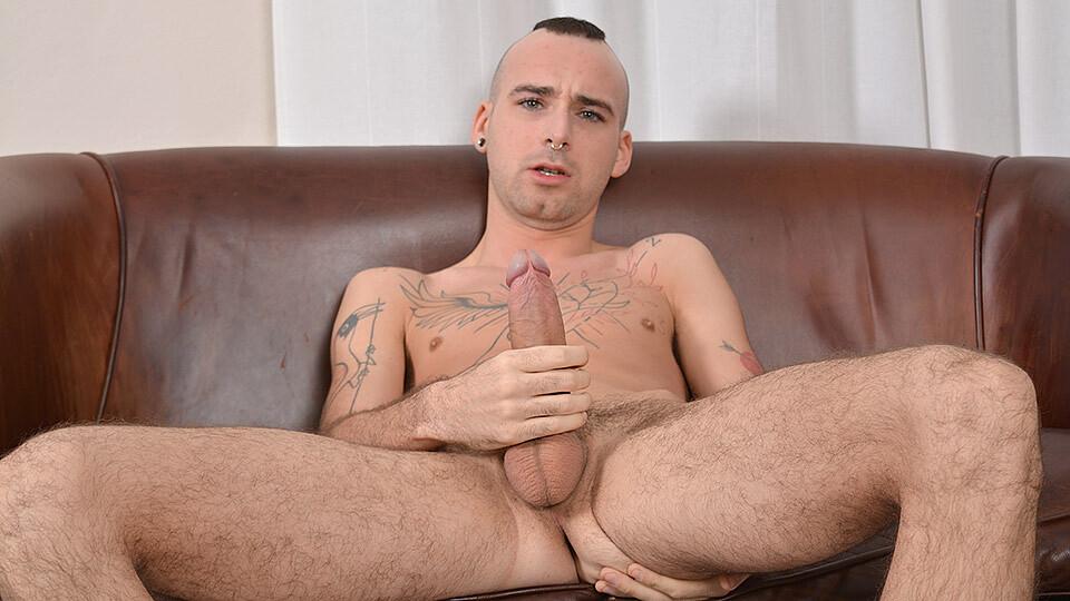 Draped Sam Has A Huge Personality - Sam Syron