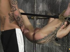 Fingerblasted Open And Screwed! - Casper Ellis And Tyler Jenkins