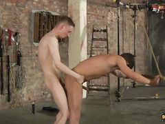 Wank Gets His Donk Rammed - Masturbate Green And Ashton Bradley