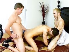 An Accidental Three-Way! - Jacob Wright, Marcus Mojo And Turk Mason