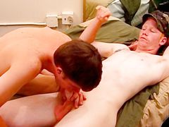 Hetero Folks Don't Mind Toying - Justin Lake, Kyle, Jake