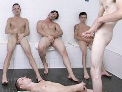 Live Homo Hump Display For 3 Jerkers - Billy, Dean, Jason, KC and Rob