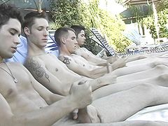 Poolside Circle Draining - Billy, KC, Turk And Winte