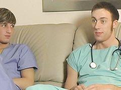 Uncircumcised Pecker Railing For Sean - Blake Bigalow And Sean Corwin