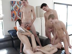 So Much Without A Condom Lad Boner To Love! - Connor Jacobs, Trey Ryan Intercourse