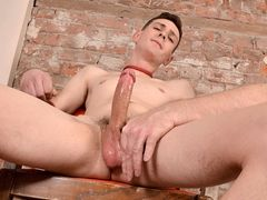 A Wood Pulsing Jerk Off! - Scott Williams