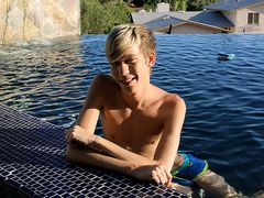 Taking A Dip With Suspended Lad Tyler - Tyler Thayer