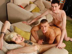 Scott Gets A Bday Handle! - Rhys Casey, Scott Williams & Jason Goddard