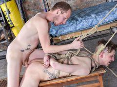 Tristan Takes A Real Stiff Boinking! - Tristan Crown & Sean Taylor