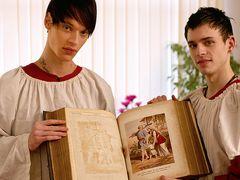 Lewis Is A Fine Schoolteacher! - Aaron Aurora and Lewis Romeo