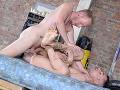 A Stellar Lil' Trussed Up Package - Mason Madison & Sean Taylor