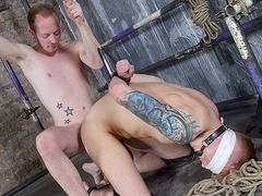 Eyes Covered Jock Gets Wielded - Tyler Underwood & Sean Taylor
